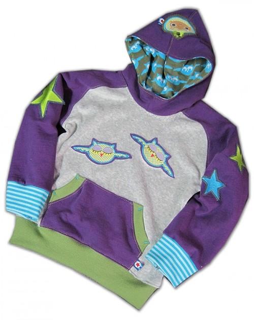 Schnittmuster Kapuzenpulli, Kapuzensweater, Sweater