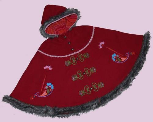 Rotkäppchen-Cape-Umhang