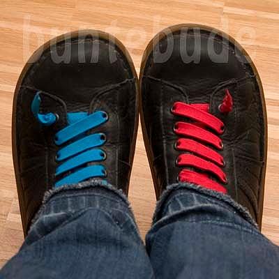 elastische Schnürrsenkel, elastischer Schuhverschluss