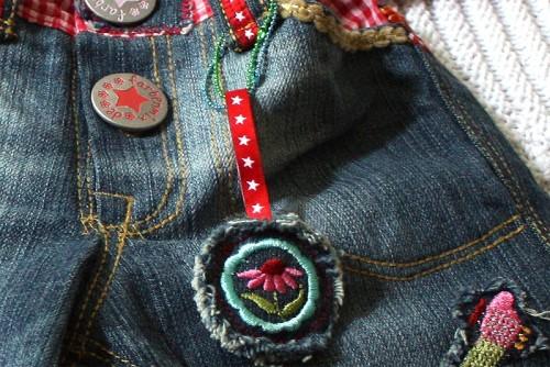 Jeans für Babys und Kleinkinder nähen