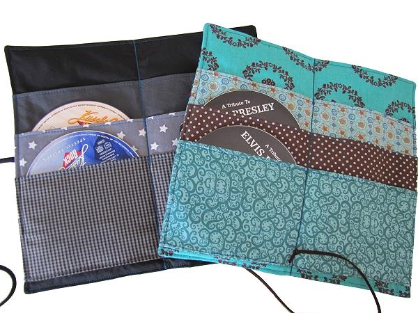Cd wallet musik cd wallet kreativ ebook auto for Aufbewahrungsbox selber machen