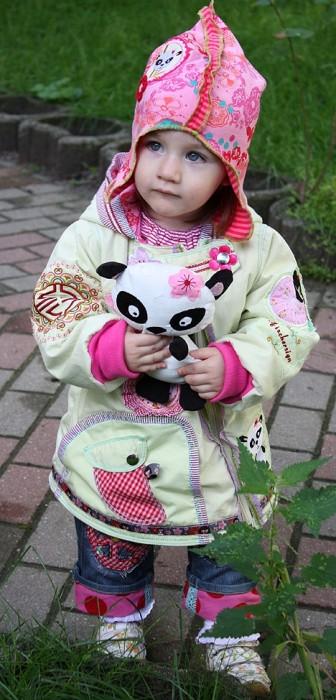 Pandabär nähen