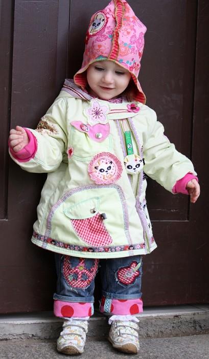 Kindergarten Jacke nähen