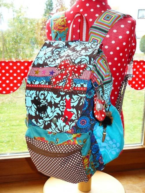 Schnittmuster Rucksack für Kinder