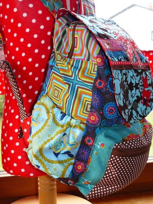 Rucksack für Schule und Kindergarten selber nähen