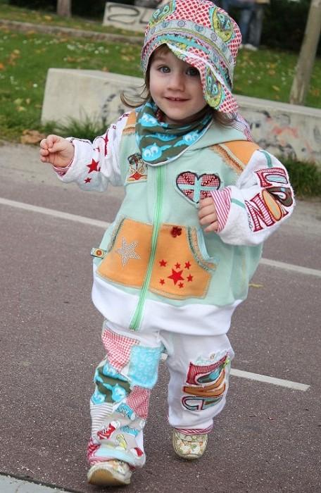 Kinderschnittmuster farbenmix, selber nähen