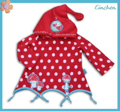 Babypulli, zipfelig nähen, Schnittmuster für Babys/Kleinkinder
