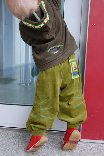 Schnittmuster einfache Hose für Kleinkinder