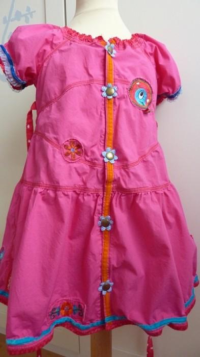 Tunika-Kleid Schnittmuster farbenmix