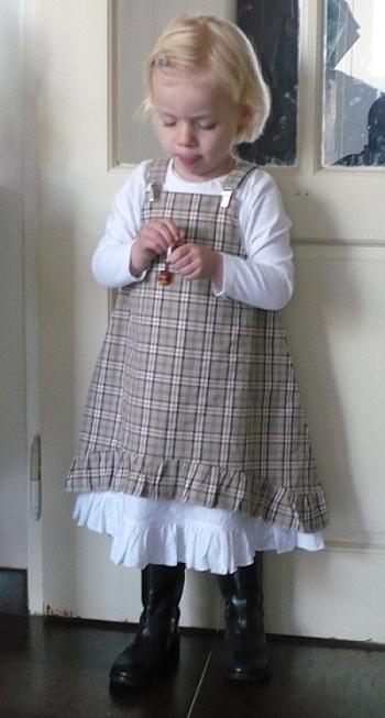 Schnittmuster Kleid, Mädchen, nähen