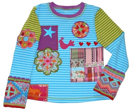 Schnittmuster Shirt Kindershirt
