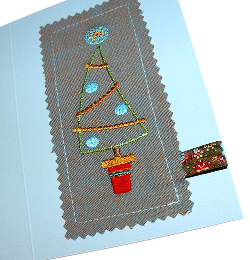 Weihnachtskarten leicht gemacht