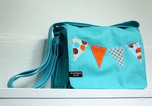 Taschen verzieren, farbenmix, Anleitung, kostenlos