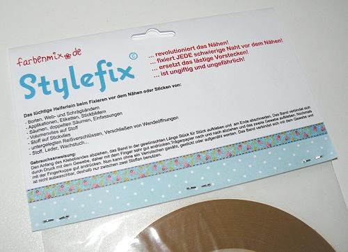 Stylefix von farbenmix, Tape für Gewebe