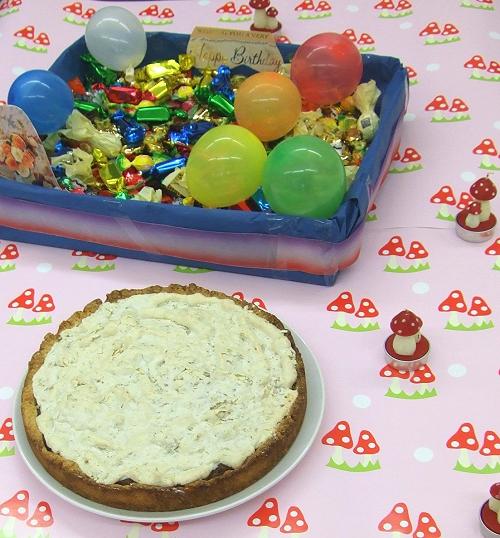 farbenmix-Geburtstagskuchen