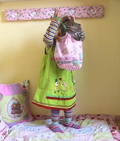 Nähen für Mädchen, rosa-lime, farbenmix Schnittmuster