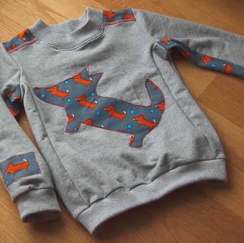 Schnittmuster Sweater für Jungen, farbenmix