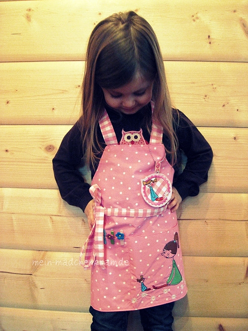Schnittmuster Kochschürze farbenmix Kinder