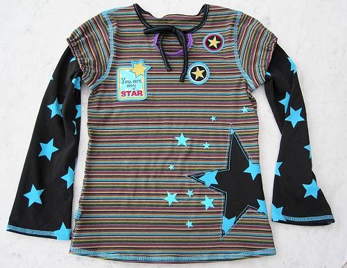 Shirt Schnittmuster farbenmix Jersey/Stoff