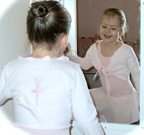 Tutorial Ballett-Jäckchen selber nähen