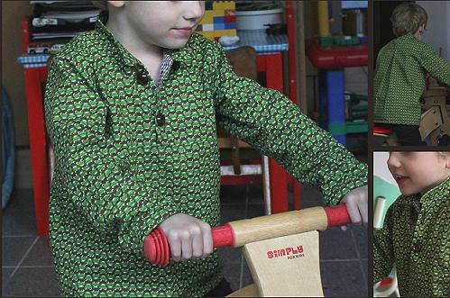 Jungsschnittmuster Hemd, farbenmix