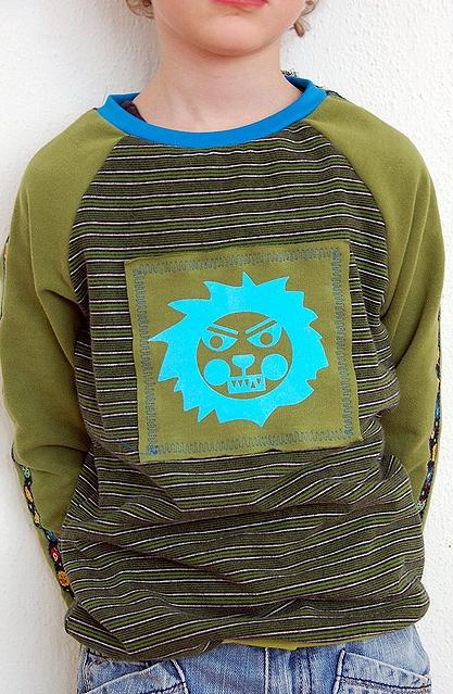 Schnittmuster Anleitung jungs Shirt farbenmix