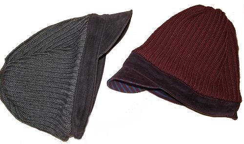 Schnittmuster farbenmix Beanie-StrickCap-Mütze