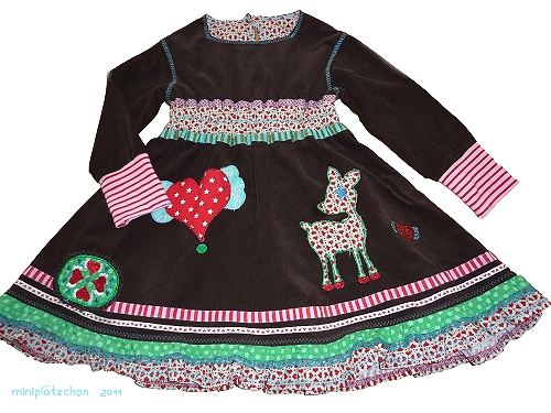 Kleid Schnittmuster farbenmix Collie-Collie