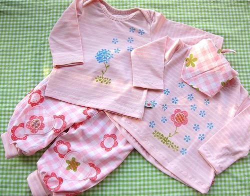 Babysachen selber machen, Anleitung, Schnittmuster, farbenmix