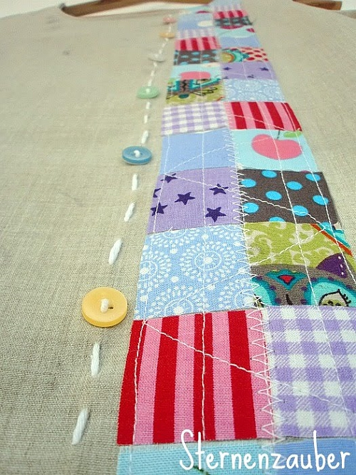 Patchwork, Tunika, farbenmix Schnittmuster