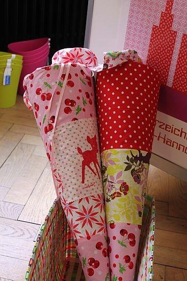 Schultüten selber basteln, Schnittmuster, Anleitung farbenmix