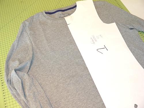Shirt recyceln, Herrenshirt, Kindershirt, farbenmix Schnittmuster
