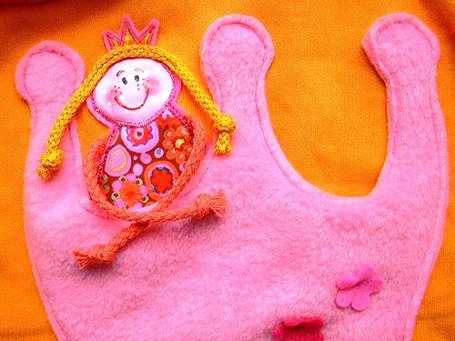 Prinzessin Applikation, Zipfelpulli, farbenmix Schnittmuster