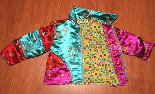 Kinderjacke, Kinderbekleidung nähen, Schnittmuster, farbenmix