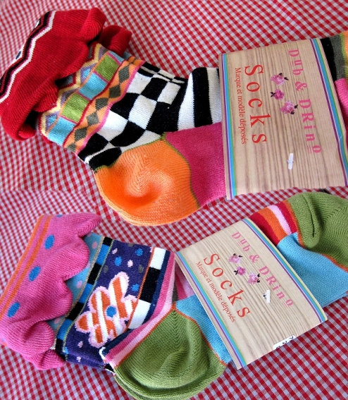 Bündchen aus Socken, Ärmelbündchen selber machen, farbenmix