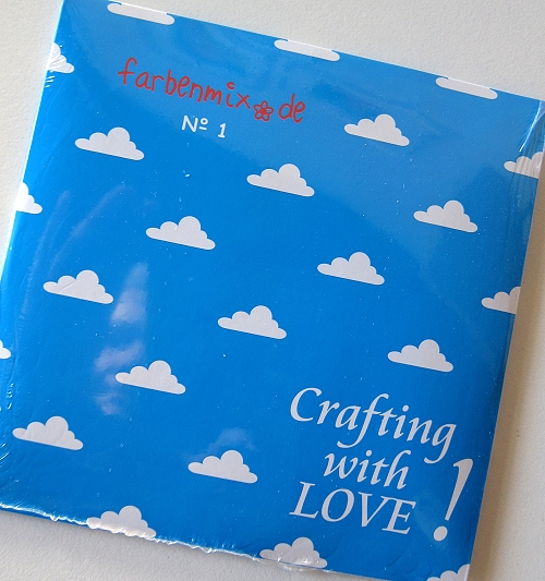 farbenmix-CD Crafting with Love 2011, Stickmuster Nähanleitungen