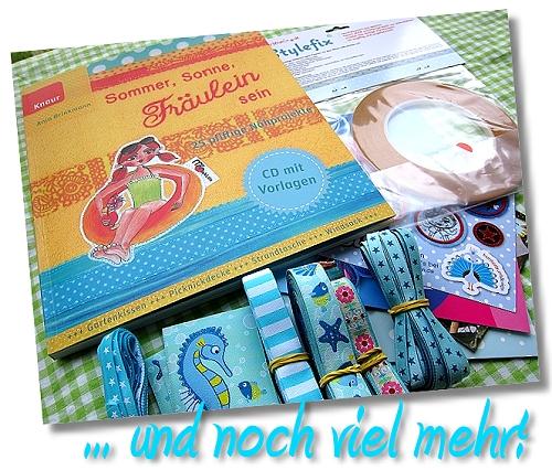 Sommer, nähen, Makis Buch, farbenmix