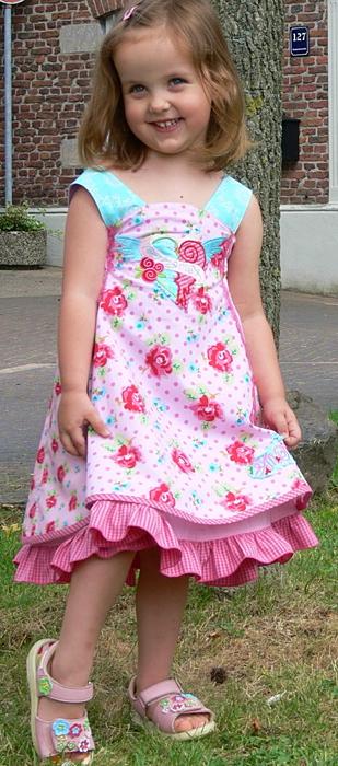 Prinzessinkleid, Schnittmuster FELEIZ, farbenmix