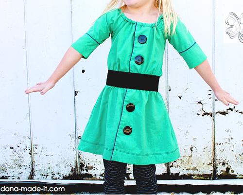 Hemd, Bluse zum Kinderkleid, recycle-style, farbenmix