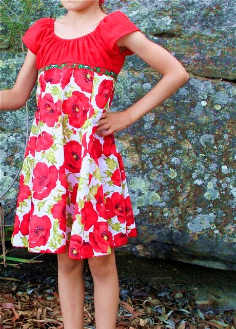 ELODIE, Schnittmuster Mädchenkleid, nähen, farbenmix