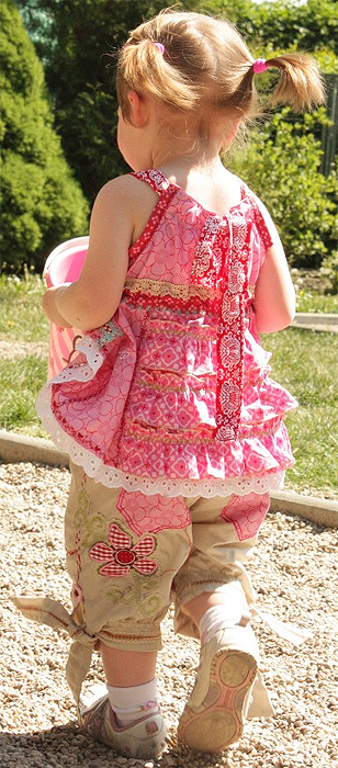 Kinderschnittmuster farbenmix, Hose, Ebook Top, Kleinkinder
