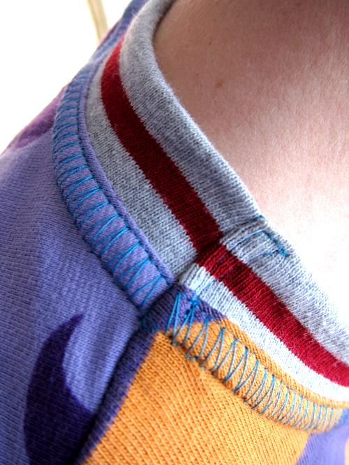Halsbündchen annähen, Tipps für Anfänger, farbenmix