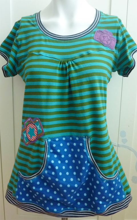 Damenshirt, Schnittmuster, nähen, Hobby, farbenmix