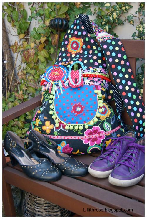 Taschen, einzigartige Kunstwerke, Schnittmuster farbenmix
