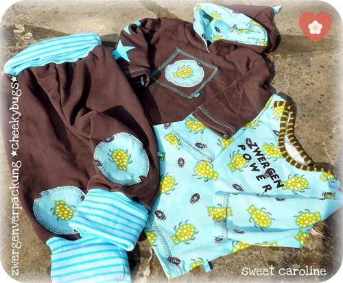 Baby-Kollektion nähen, Schnittmuster für Kleine, farbenmix