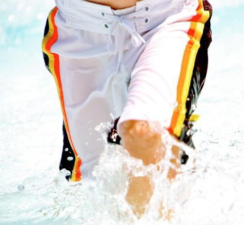 Badehosen, Innenfutter, Netz, einnähen, Schnittmuster farbenmix