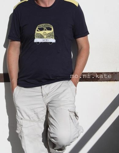 Herrenshirt nähen, Schnittmuster und Fotoanleitung farbenmix