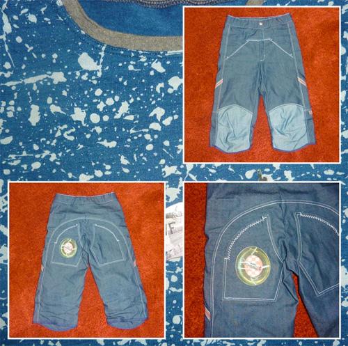 Jeanshose nähen für Jungs, Schnittmuster farbenmix