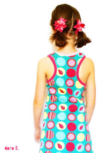 Sommerkleid, Schnittmuster, Anleitung farbenmix