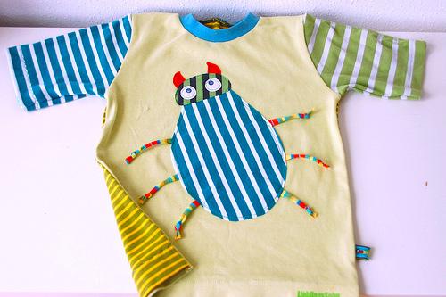 Shirt-Schnittmuster für Jungen, Fotoanleitung farbenmix